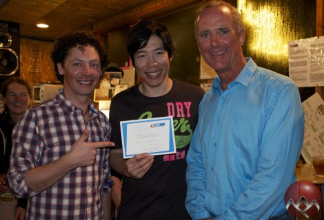 PCB with new SBINZ Level Two instructor Benjamin Lei and SBINZ Trainer Keith Stubbs